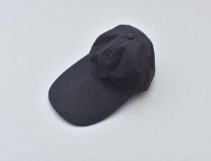WHOWHAT 「 LONG BRIM CAP / BLACK 」