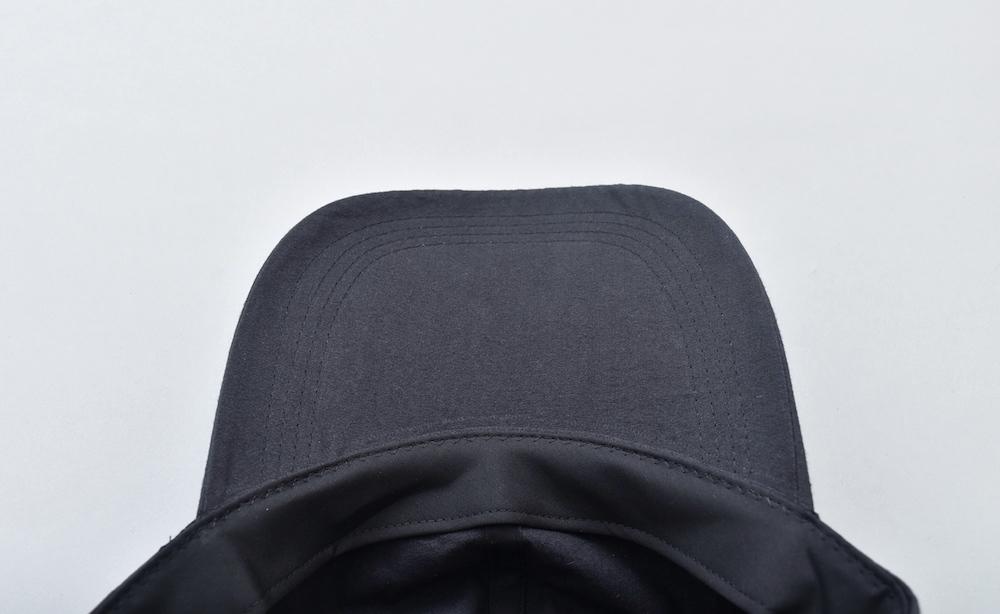 WHOWHAT 「 LONG BRIM CAP / BLACK 」