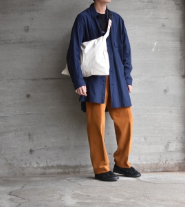 "WHOWHAT「 WRAP BAG "" S "" / IVORY 」"