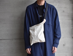 """WHOWHAT「 WRAP BAG """" XS """" / IVORY 」"""