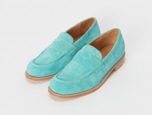 Hender Scheme「typical color exception loafer / #06 emerald blue」