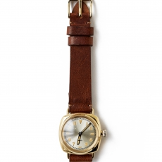 OLD JOE BRAND.「EXCELSIS (WRISTWATCH) / BADARASSI LEATHER / GOLD x CAMEL LEATHER 」