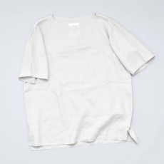 AUGUSTE-PRESENTATION PajamaLook「リネンシーツ半袖プルオーバー / L.GREY 」