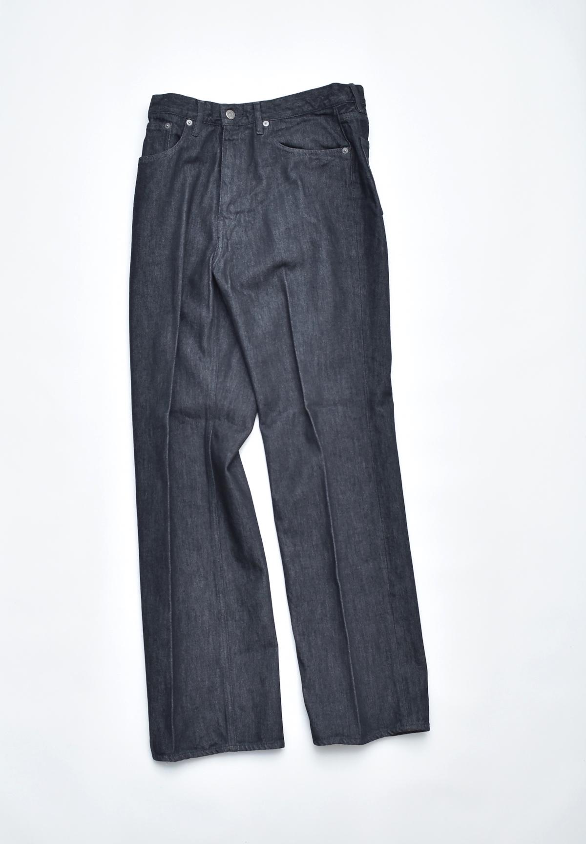 AURALEE「 HARD TWIST DENIM 5P PANTS / BLACK 」