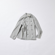 POLYPLOID 「 DOUBLE BREASTED JACKET TYPE-C / GRAY 」