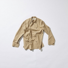 POLYPLOID 「 DOUBLE BREASTED JACKET TYPE-C / BEIGE 」