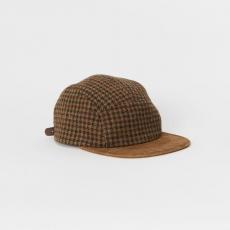 Hender Scheme「tweed jet cap / camel&brown 」