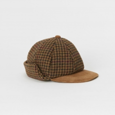 Hender Scheme 「 tweed ear cap - camel/brown 」