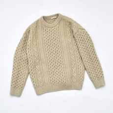 AURALEE 「 FRENCH MERINO ARAN KNIT P/O 」