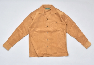 BROWN by 2-tacs 「 OPEN COLLAR / BEIGE 」