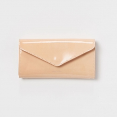 Hender Scheme 「 long wallet - patent cow leather 」