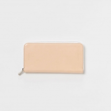 Hender Scheme 「 long zip purse - patent cow leather 」