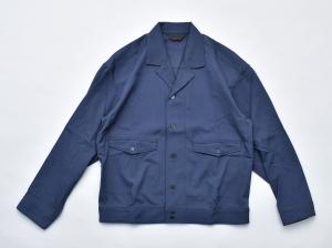 ESSAY「SH-3 : GABARDINE SHIRT / blue」