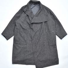 ESSAY「C-1 : GURKHA COAT / black check」