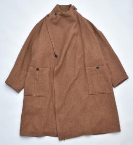 ESSAY「C-1 : GURKHA COAT / brown」