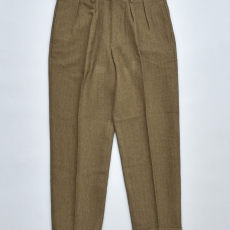 BROWN by 2-tacs 「 WIDE SLACKS / OLIVE 」