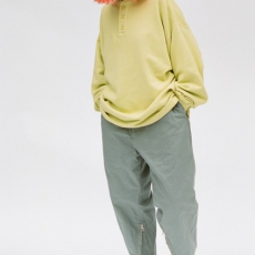 gourmet jeans 「 HENLY SWEAT / YELLOW 」