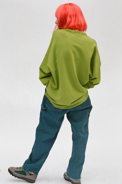 gourmet jeans 「 HENLY SWEAT / PISTACIA」