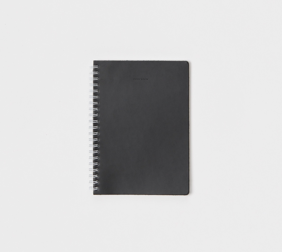 Hender Scheme「 removable ring note A5 -  rule / black 」