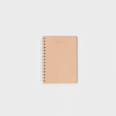 Hender Scheme「 removable ring note A6 -  rule / natural 」