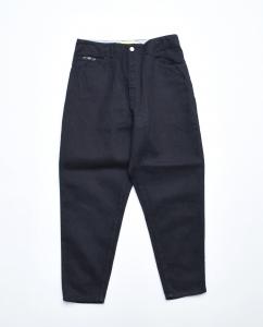 gourmet jeans「TYPE 03 - LEAN  /  BLACK 」