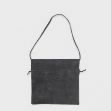 Hender Scheme「 red cross bag big / dark gray 」