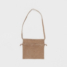 Hender Scheme「 red cross bag small / beige」