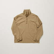 POLYPLOID「MILITARY HENLY NECK PULLOVER TYPE-C / BEIGE」