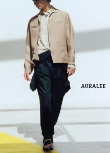 AURALEE「 SILK TRIPLE CLOTH SHIRTS BLOUSON 」