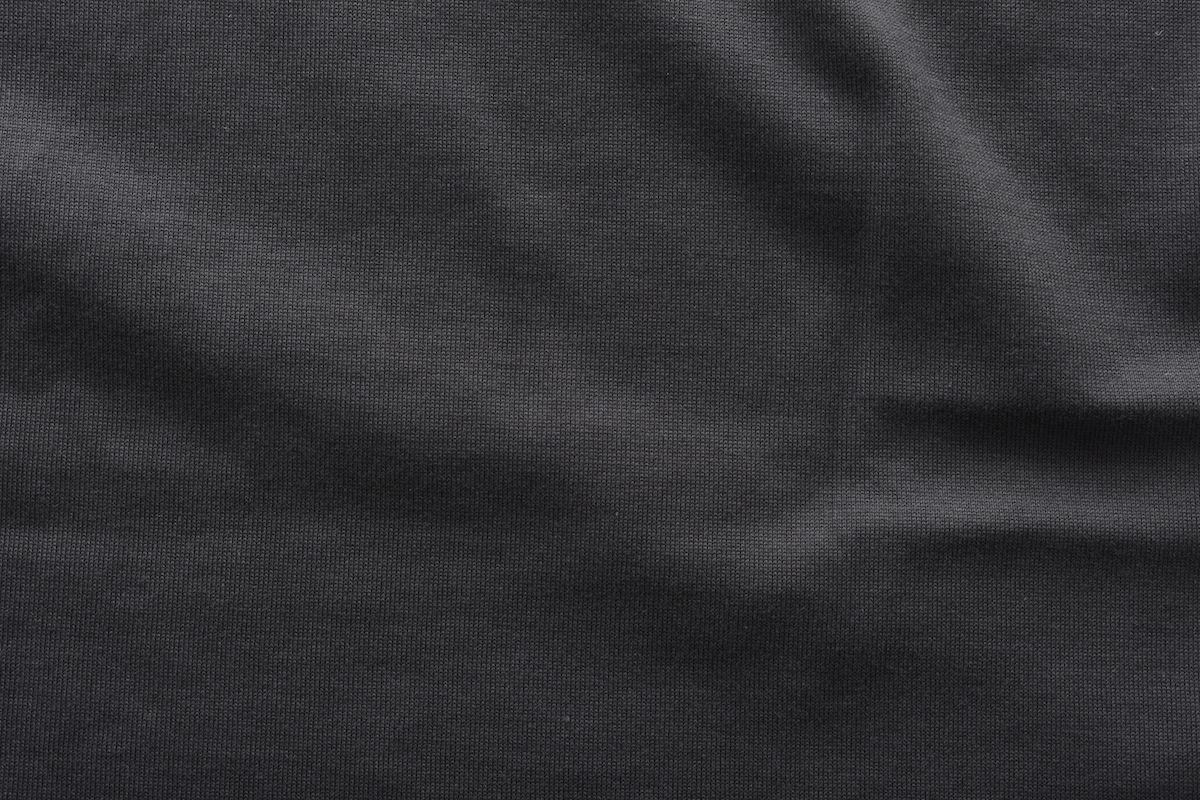 AURALEE「 LUSTER PLATING TEE / INK BLACK 」