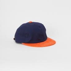 Hender Scheme「 2 tone cap / navy × orange 」