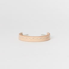 Hender Scheme「not lying jewelry bangle silver S - patent cow leather」