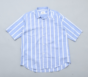 kudos 「 PLUS 5CM SHIRT / BLUE 」