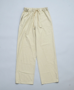 AURALEE「 WASHED FINX TWILL EASY WIDE PANTS / LIGHT GREEN 」