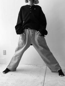gourmet jeans 「 CAMBER 刺繍HENLEY 」