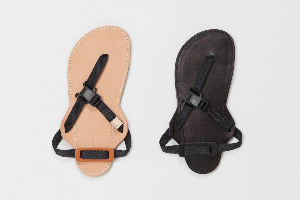 Hender Scheme「 device strap / black×black 」*ladies' model