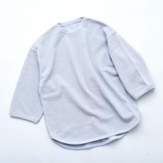crepuscule 「 7's round knit / L.Blue 」