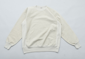 AURALEE「 SUPER MILLED SWEAT P/O / PALE GREEN 」
