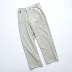 AURALEE「 WASHED CORDUROY 5P PANTS / LIGHT GREEN 」
