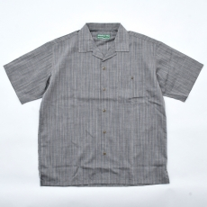 BROWN by 2-tacs 「 OPEN COLLAR / GRAY 」