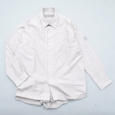 ESSAY 「 SH-1 : BALLOON SHIRT / brown stripe 」