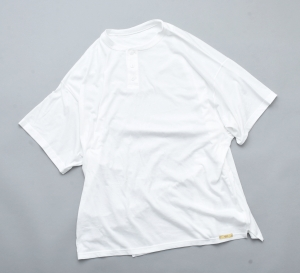 gourmet jeans 「 HENLY S/S / WHITE 」