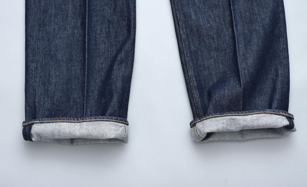 AURALEE「 HARD TWIST DENIM 5P PANTS / INDIGO 」