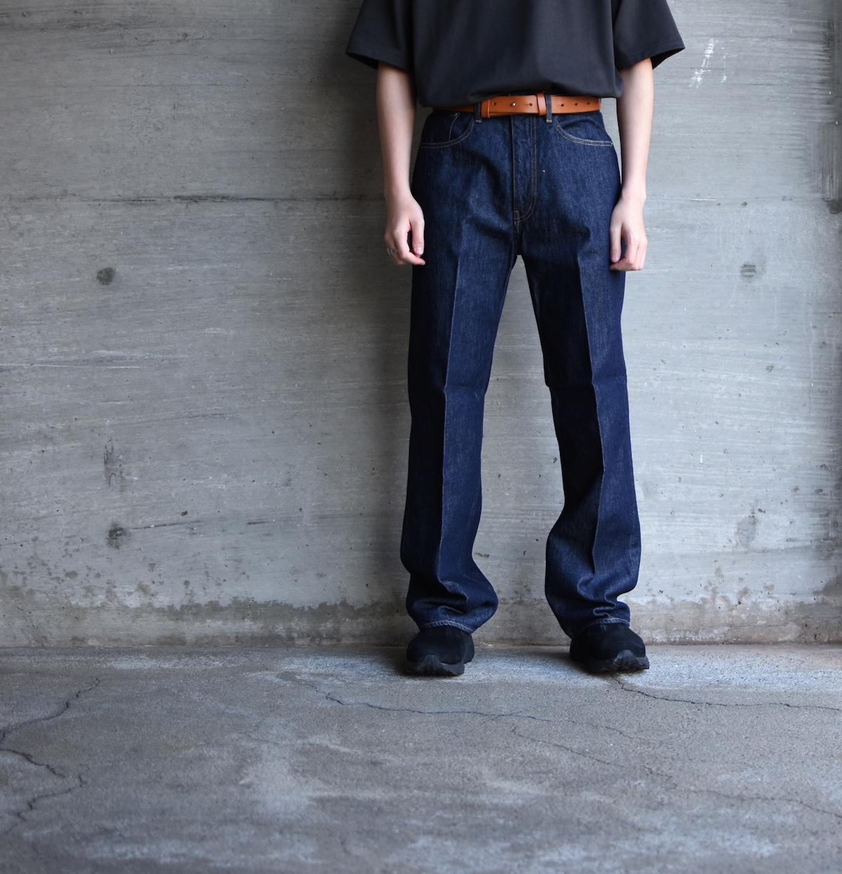 AURALEE「 HARD TWIST DENIM 5P PANTS / INDIGO 」