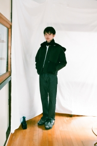 kudos「 MY OLD DENIM TROUSERS / BLACK 」