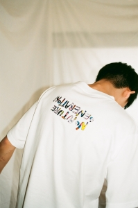 kudos 「 FUTURE GENERATION T-SHIRT / WHITE 」