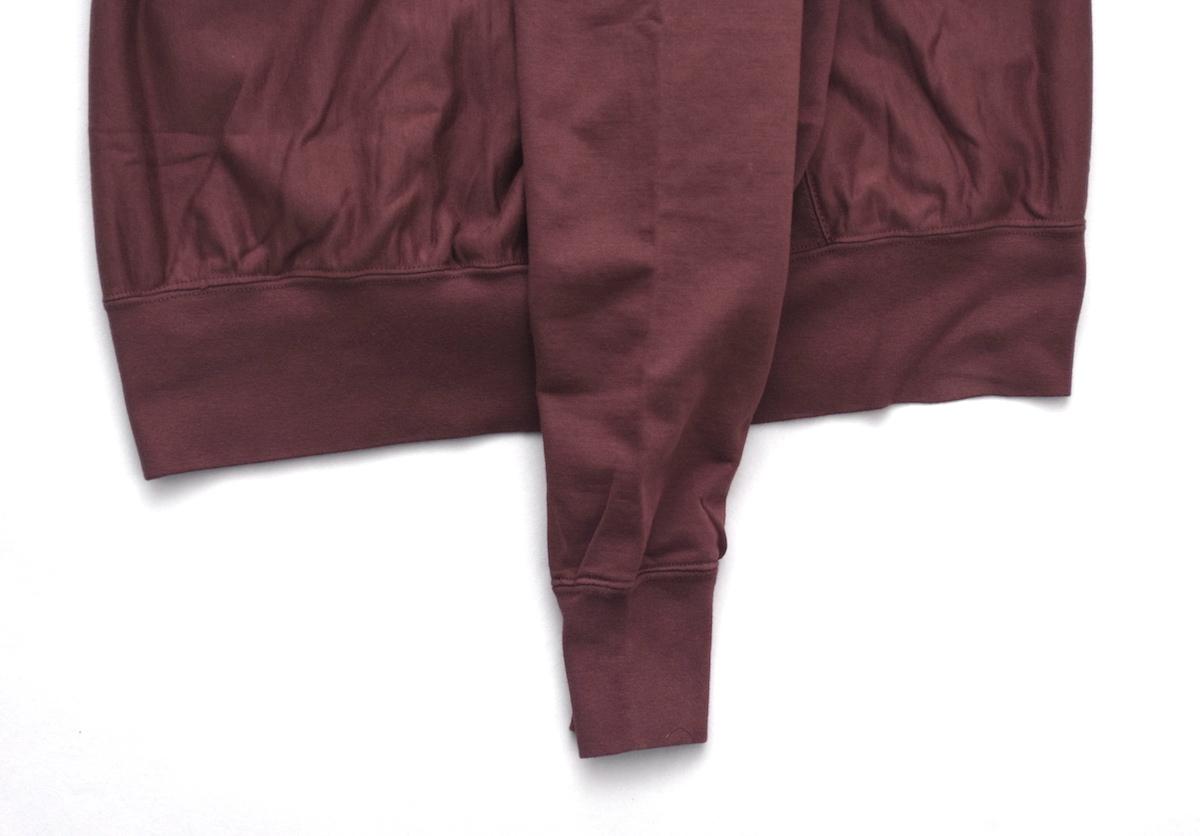 AURALEE 「 SUPER HIGH GAUGE SWEAT P/O / RED BROWN 」