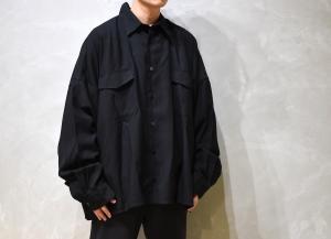WHOWHAT 「 5X SHIRT - SHORT LENGTH - / BLACK 」
