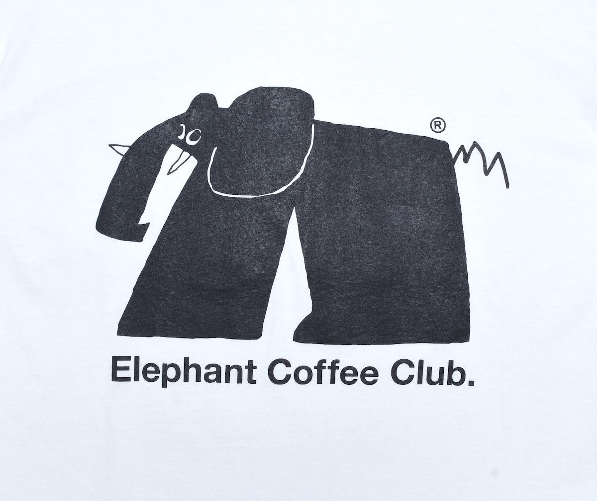 Elephant Coffee Club®︎ 「 E.C.C T-SHIRTS / WHITE 」