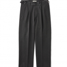 OLD JOE BRAND.「SIDE BUCKLE GRUKHA TROUSER / GRAPHITE」